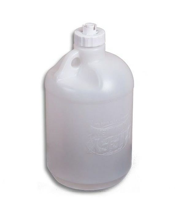 "Plastic Water Bottle ""B"" With Check Valve Cap"
